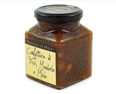 Confettura di fichi, mandorle e miele Armando in Porto Azzurro 340gr
