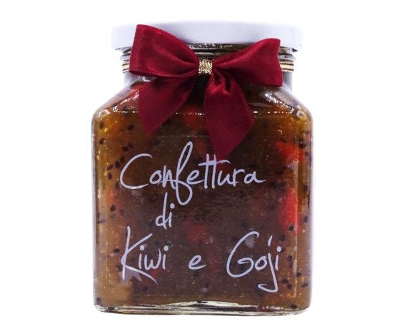 Confettura di kiwi e bacche di goji Armando in Porto Azzurro 340gr