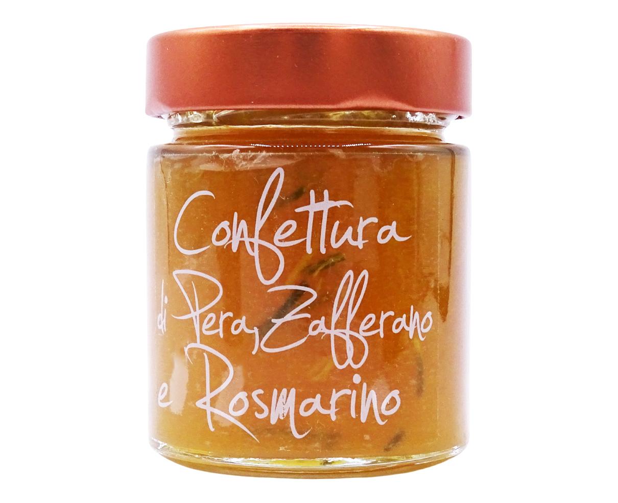 Confettura di pera, zafferano e rosmarino Armando in Porto Azzurro 170gr