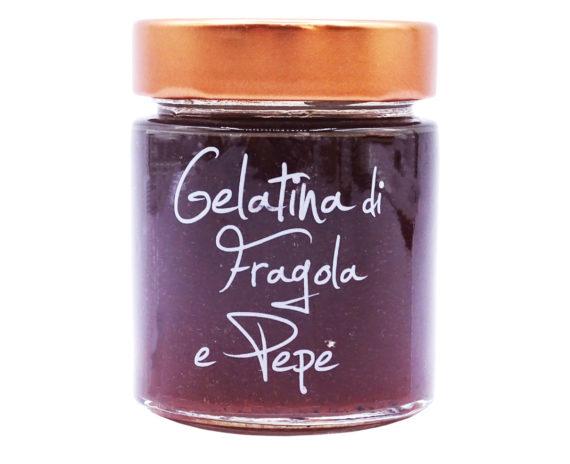 Gelatina di fragola e pepe Armando in Porto Azzurro 170gr