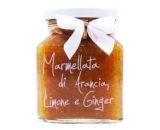 Marmellata di arancia, limone e ginger Armando in Porto Azzurro 340gr