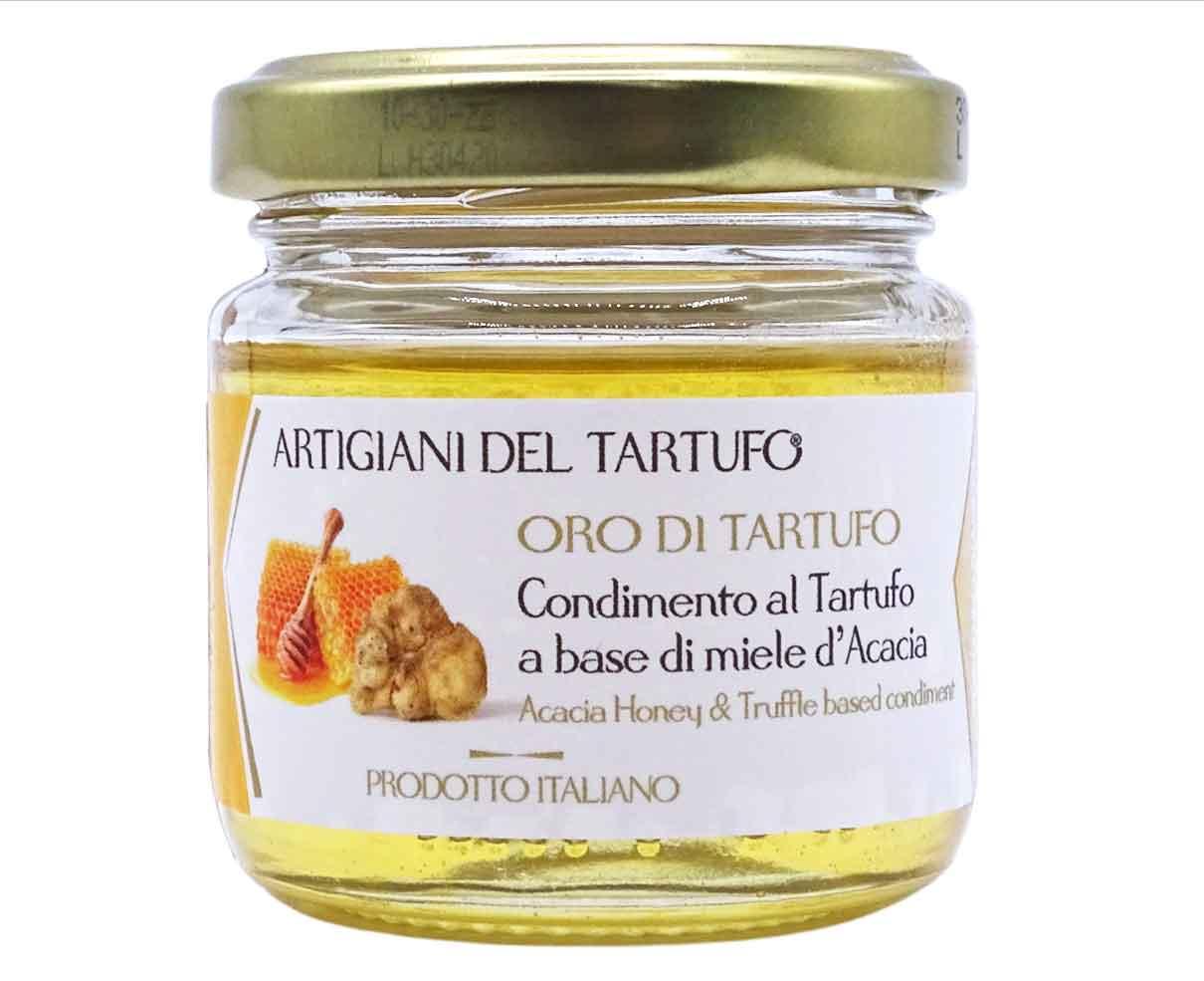 Condimento al tartufo a base di miele d'acacia Artigiani del Tartufo 120gr