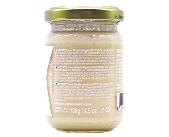 Crema al Parmigiano Reggiano e tartufo bianco 130gr