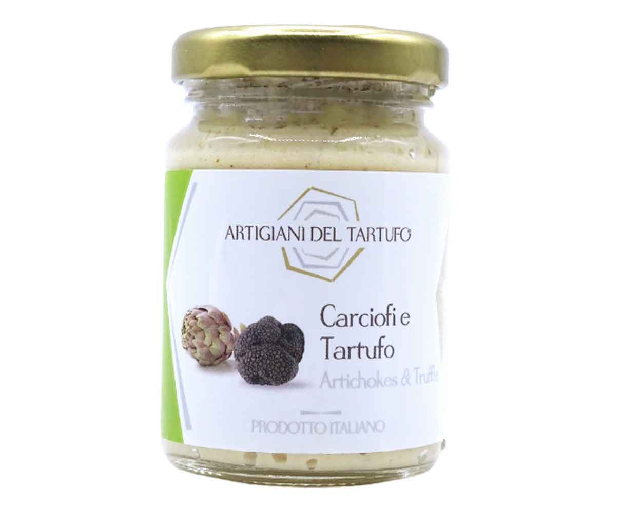 Crema di carciofi e tartufo estivo Artigiani del Tartufo 90gr