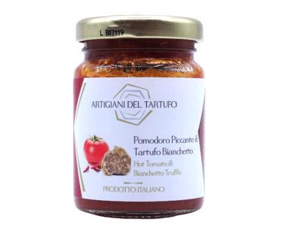 Pomodoro piccante e tartufo bianchetto 90gr