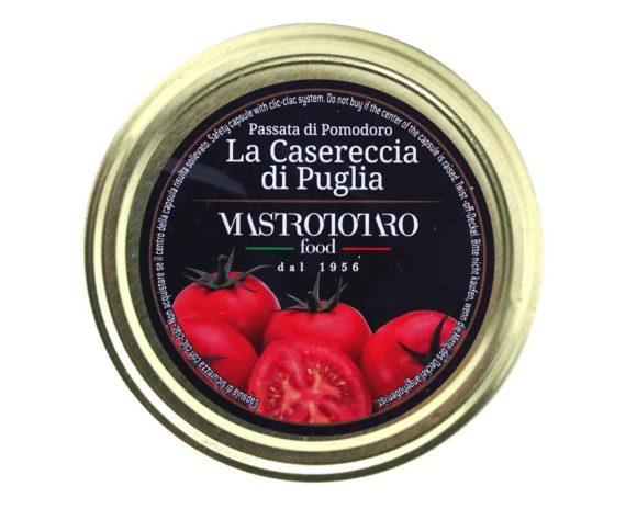 Passata di pomodoro la casereccia di Puglia Mastrototaro 500gr