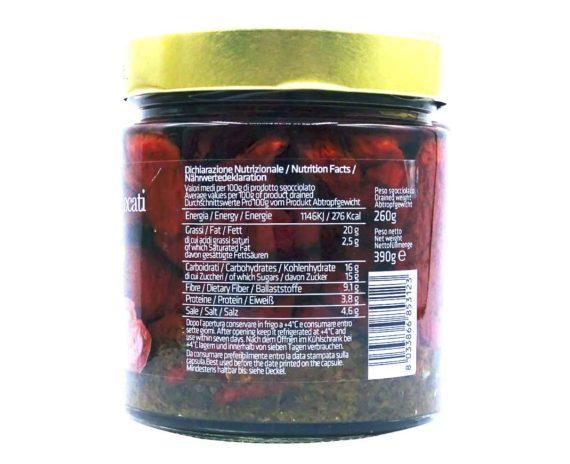 Pomodori essiccati in olio evo Mastrototaro 410gr