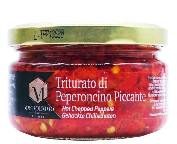 Triturato di peperoncino piccante Mastrotaro 170gr
