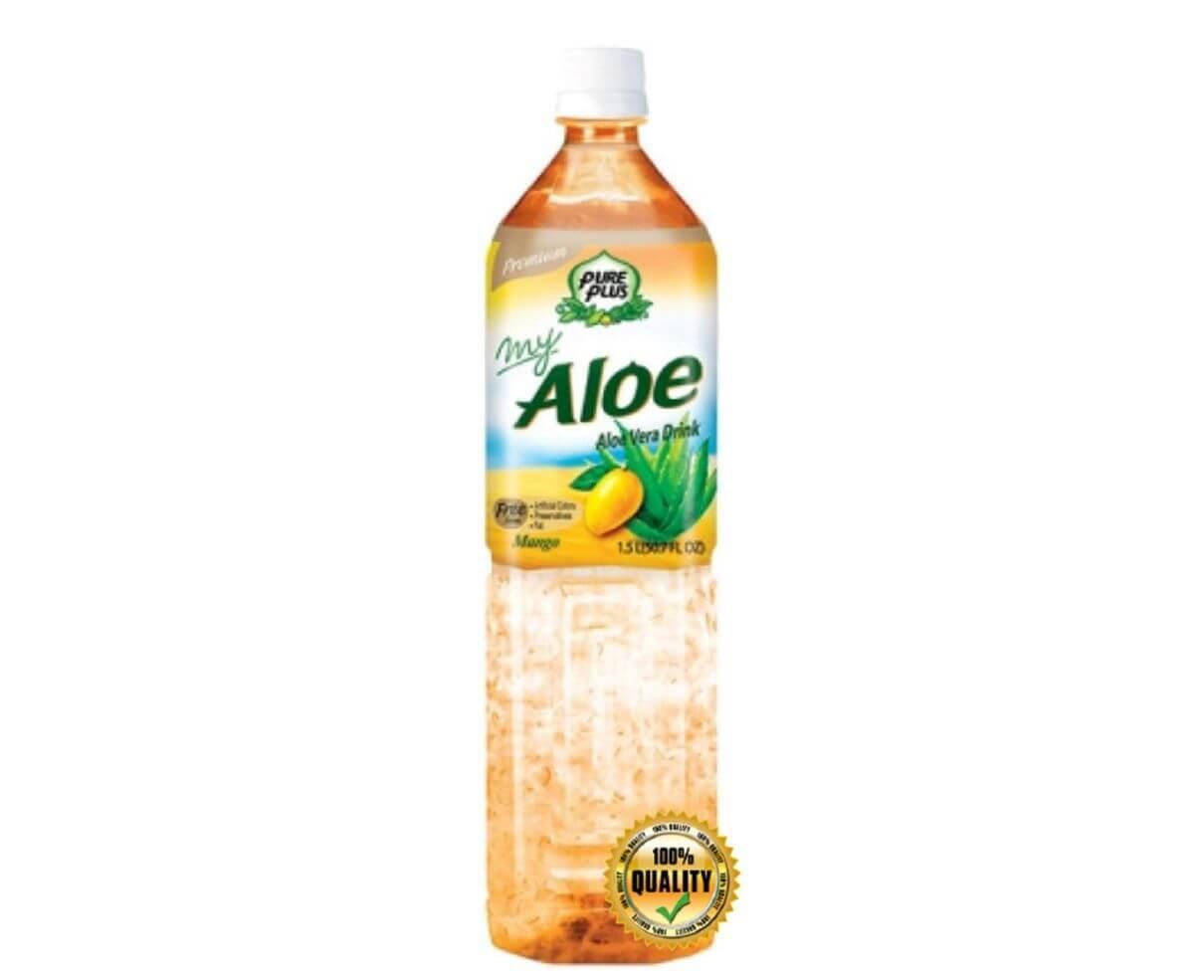 Bevanda all'aloe vera al gusto di mango 1,5 lt