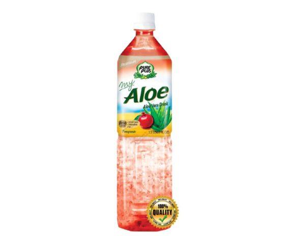 Bevanda all'aloe vera al gusto di melograno 1,5 lt