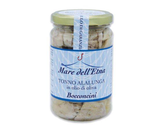 Bocconcini di tonno alalunga in olio d'oliva 300gr