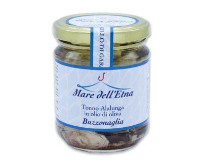 Buzzonaglia di tonno alalunga in olio d'oliva 200gr