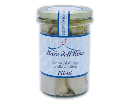 Filetti di tonno alalunga in olio d'oliva 300gr