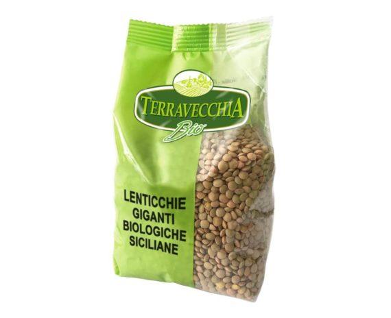 Lenticchie giganti siciliane bio Terravecchia 350gr