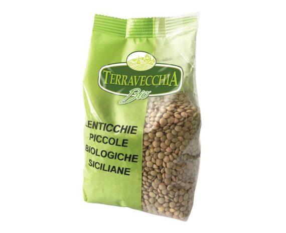Lenticchie piccole siciliane bio Terravecchia 350gr