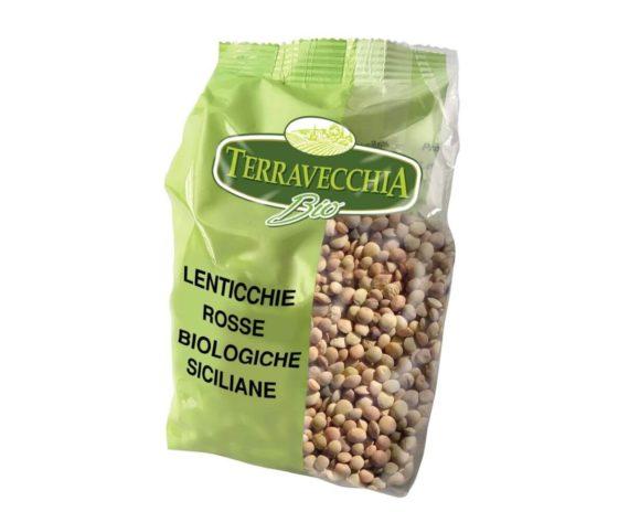 Lenticchie rosse siciliane bio Terravecchia 350gr