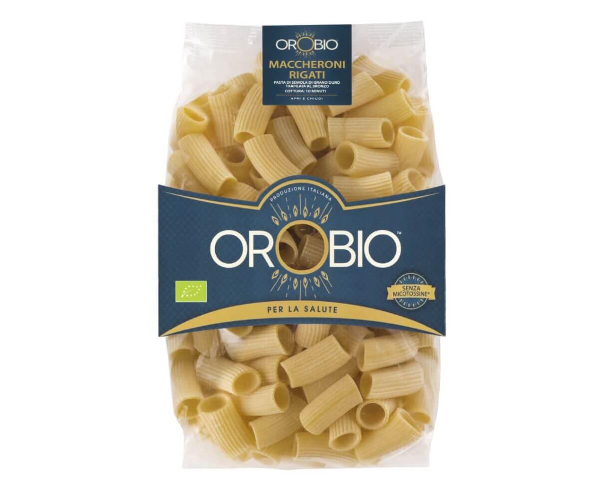 Maccheroni rigati Orobio 500gr