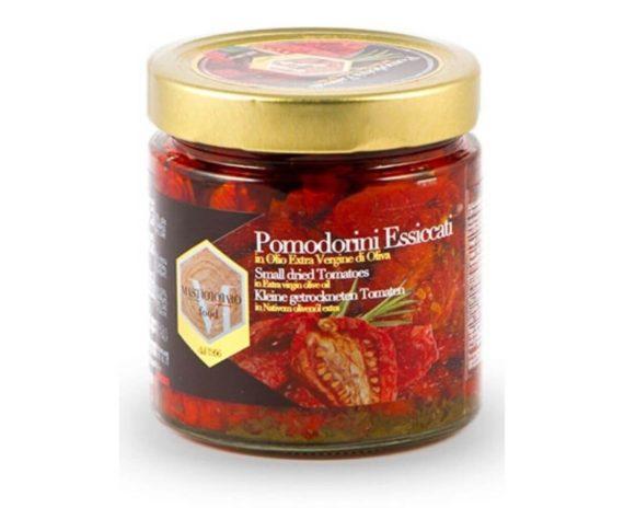 Pomodorini essiccati in olio evo Mastrototaro 390gr