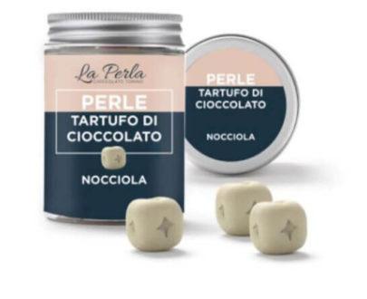 Perle di tartufo di cioccolato e nocciola La perla 50gr