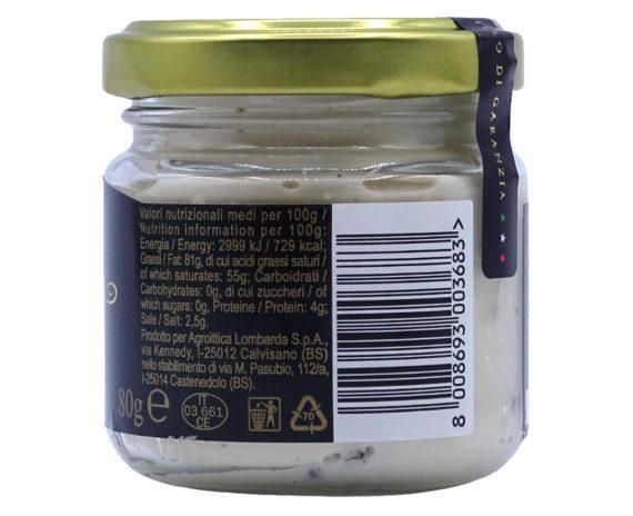 Crema di burro al caviale Calvisius 80gr
