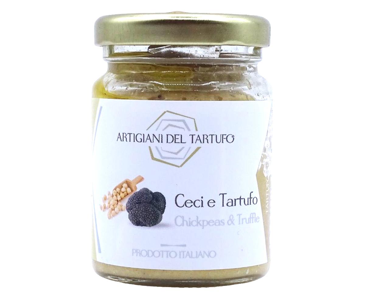 Crema di ceci e tartufo Artigiani del Tartufo 90gr
