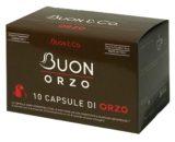 10 capsule caffè di orzo compatibili Nespresso