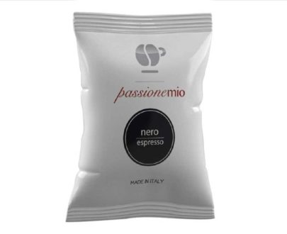 "30 capsule caffè miscela ""nera"" compatibile Nespresso"