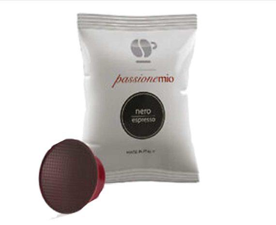 """30 capsule caffè miscela """"nero"""" compatibili Lavazza a modo mio"""