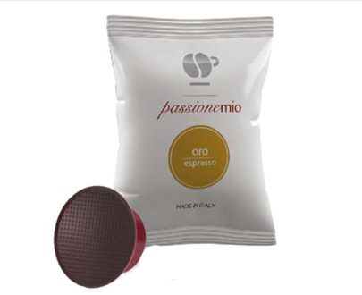 """30 capsule caffè miscela """"oro"""" compatibili Lavazza a modo mio"""
