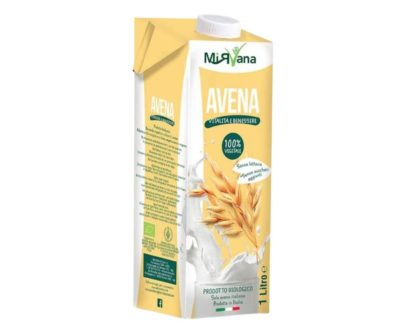 Bevanda all'avena bio Mirvana 1lt
