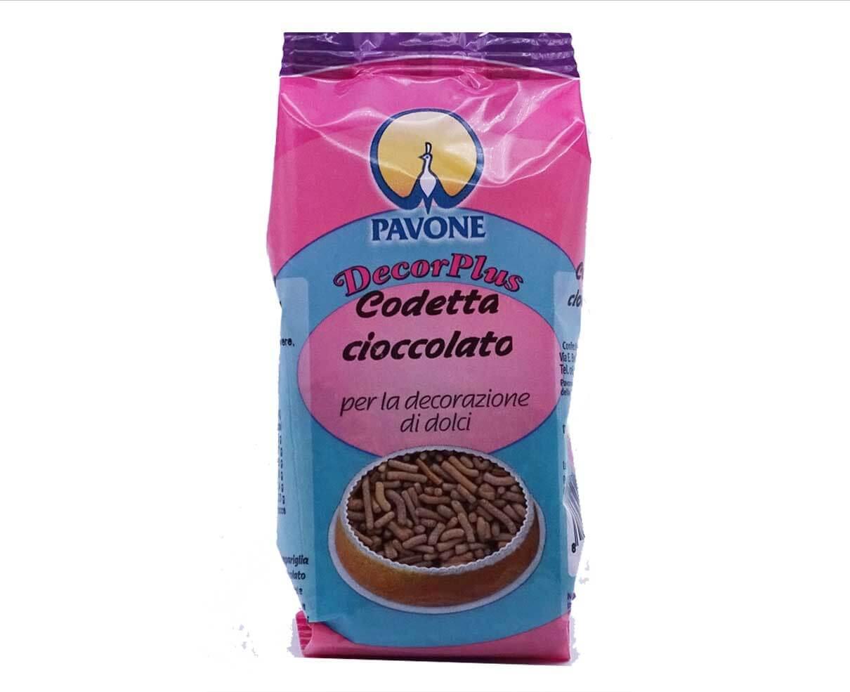 Codetta di cioccolato Pavone 50gr