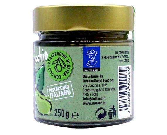 Crema spalmabile baffo di pistacchio goloso 250gr
