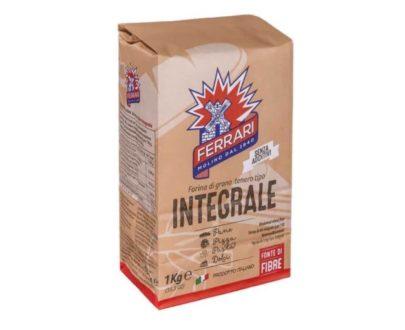 Farina integrale di grano tenero molino Ferrari 1 kg