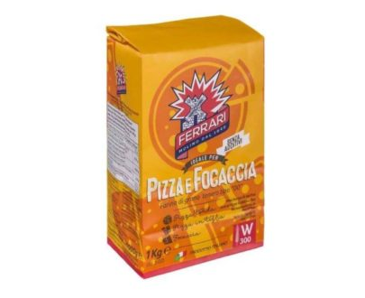 """Farina per pizza e focaccia tipo """"00"""" molino Ferrari 1 kg"""