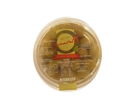 Olive verdi da aperitivo Lucarelli 200gr