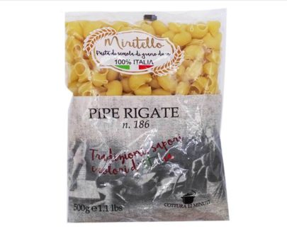 Pipe rigate pasta Miritello 500gr