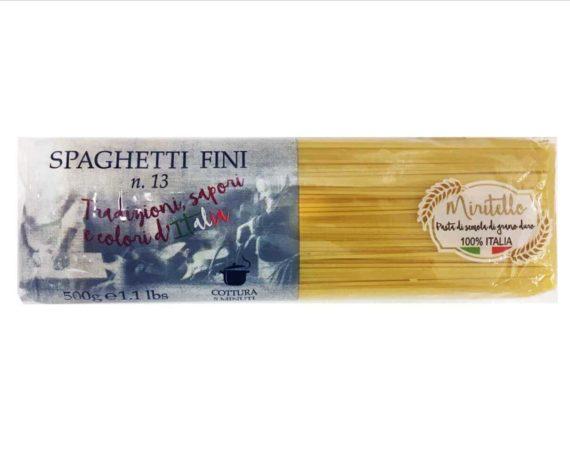 Spaghetti fini pasta Miritello 500gr