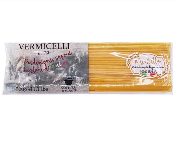 Vermicelli pasta Miritello 500gr