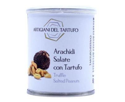 Arachidi salate con tartufo nero Artigiani del Tartufo 60gr