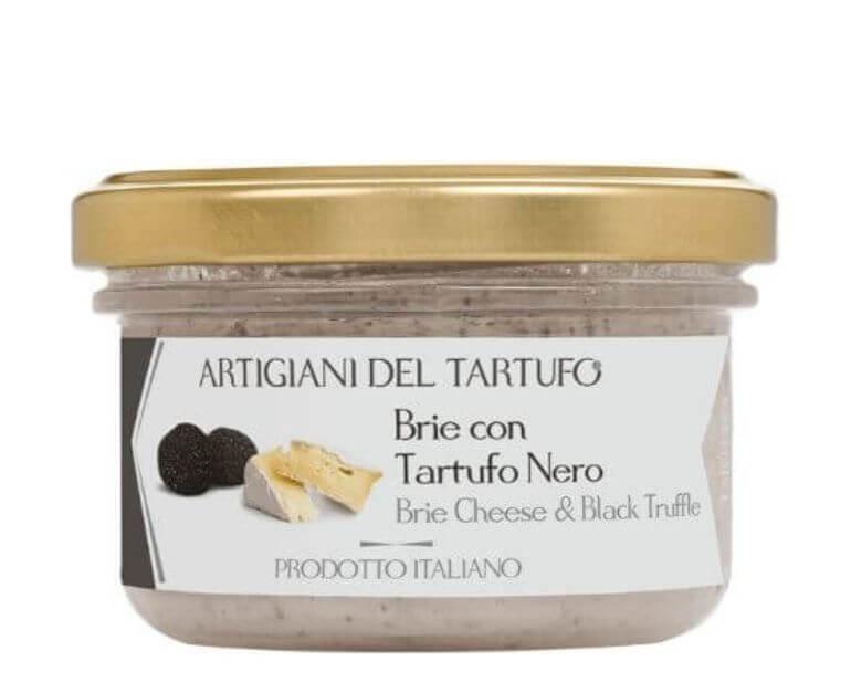 Crema di formaggio brie con tartufo nero 90gr