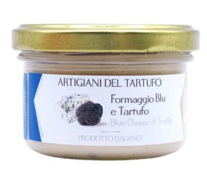 Formaggio blu e tartufo nero Artigiani del Tartufo 90gr