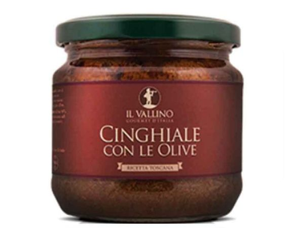 Cinghiale con le olive Il Vallino 330gr