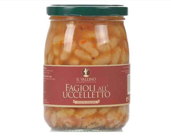 Fagioli all'uccelletto il Vallino 500 gr