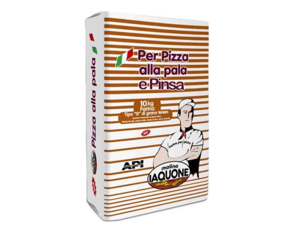 """Farina per pinsa romana di tipo """"0"""" molino Iaquone 10 kg"""