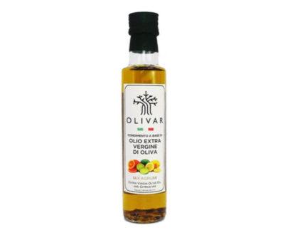 Condimento a base di olio evo e mix agrumi Olivar 250ml