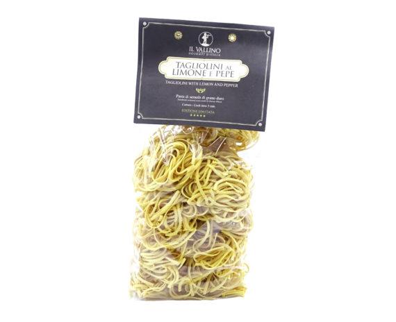 Tagliolini al limone e pepe pasta Il Vallino 500gr