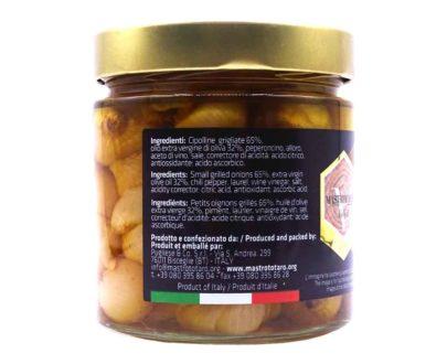 Cipolline borettane grigliate Mastrototaro 370gr