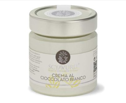 Crema al Cioccolato Bianco Scyavuru 200gr