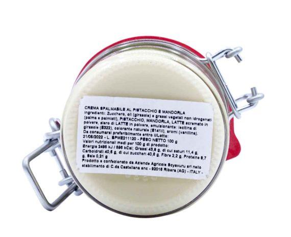 Crema bigusto al pistacchio e mandorla Scyavuru 100gr