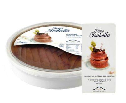 Filetti di acciughe del Cantabrico in olio evo
